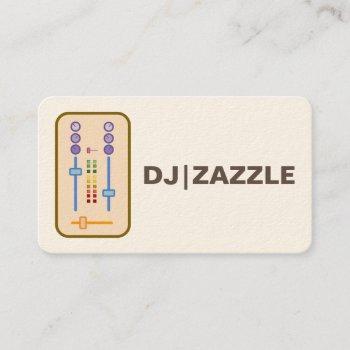dj business cards 2016
