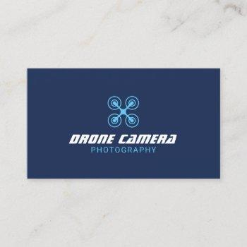 drone aerial video & photography navy photographer business card