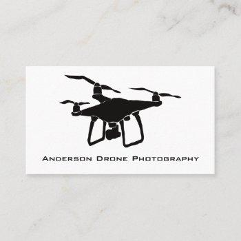 drone photographer business cards
