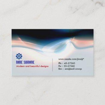 electric light modern and powerful business card