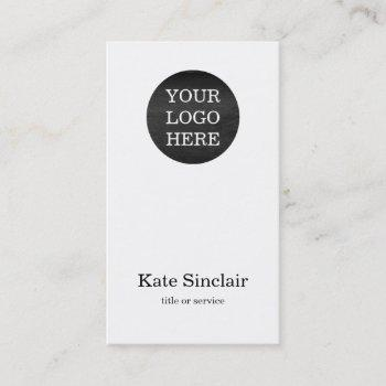 elegant minimalist modern your logo business card