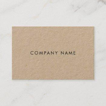 elegant modern attractive graceful company plain business card