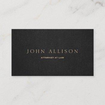 elegant professional dark brown business card