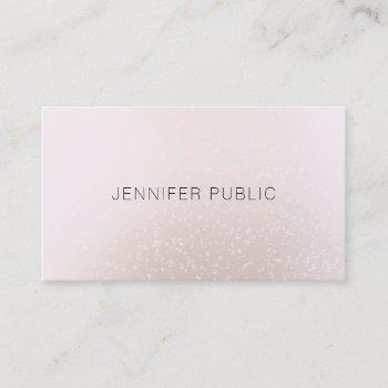 elegant simple modern professional trendy template business card