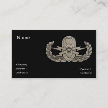 eod senior business card