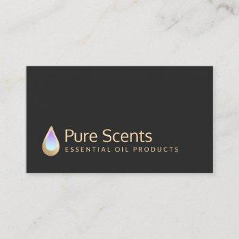essential oils fragrance aromatherapy business card