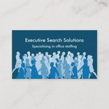 executive search agency business cards