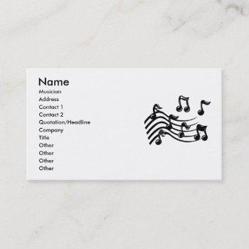express business cards for band & musicians, music