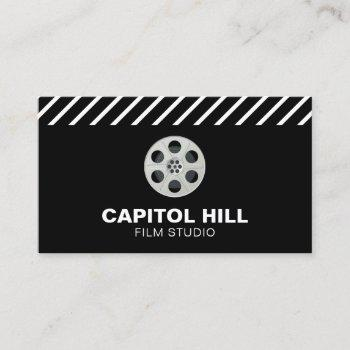 film reel | film studio | professional film maker business card