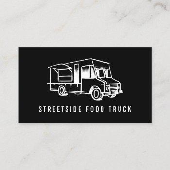 food truck logo business cards