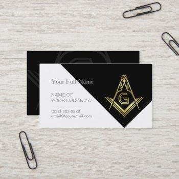 freemason business cards | masonic templates