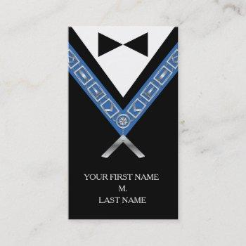 freemasonry business cards - custom masonic card