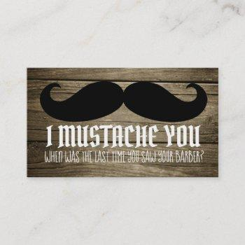 funny barber slogans business cards