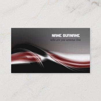 futuristic modern business card design