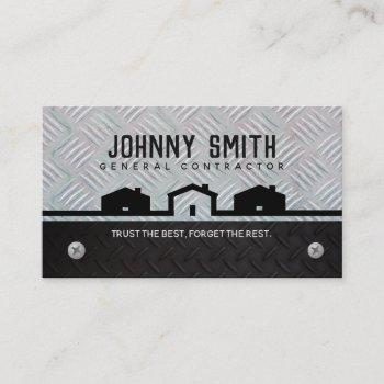 general contractor slogans business cards