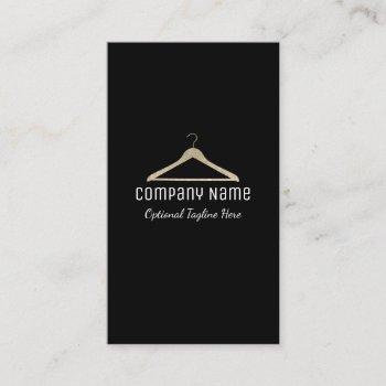 glitter hanger logo business card