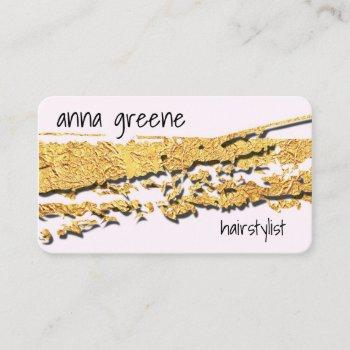 go gold or go home business card
