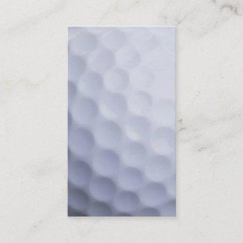 golf ball background customized template business card