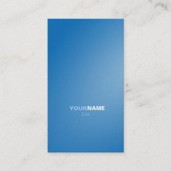 groupon dazzling blue business card