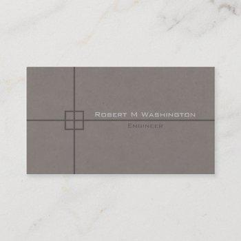 groupon engineer crosshairs geometric business card
