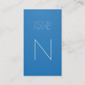 groupon fashion dazzling blue business card