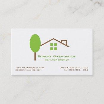 groupon real estate broker business card