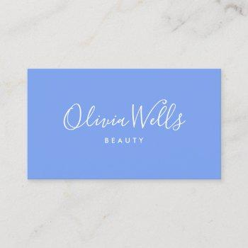 handwritten calligraphy social media icon lavender business card