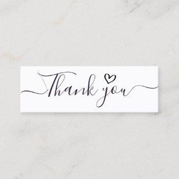 handwritten thank you script insert business