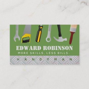 handyman slogans business cards