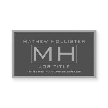 hansom grey & dark grey professional