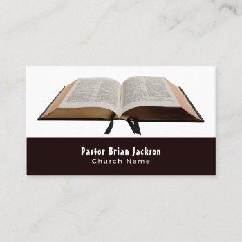 holy bible, christianity, religious business card