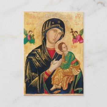 holy card | our lady/mother of perpetual help