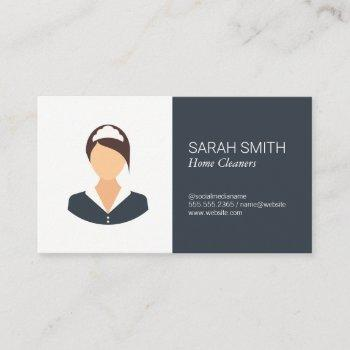 home cleaner | maids business card