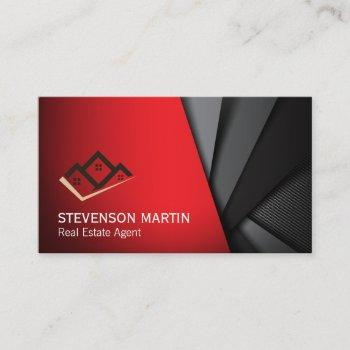 home icon | abstract background business card