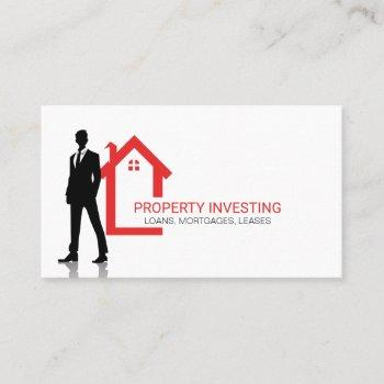 home icon | property real estate business card