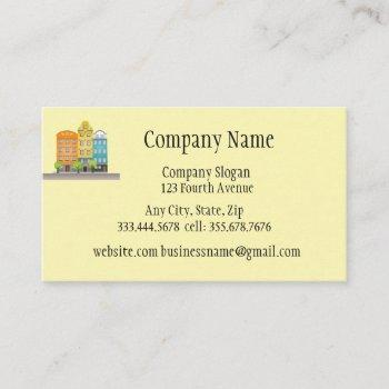 home or property inspector business card