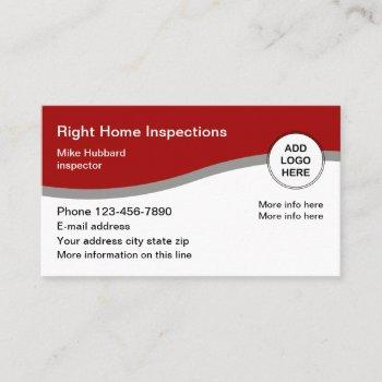 home services business logo cards