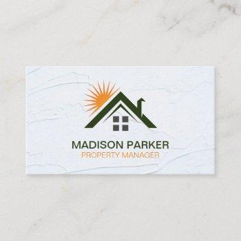 home sunshine | commercial private properties business card