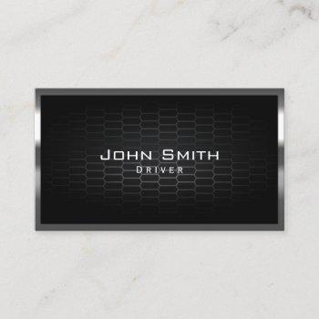 honeycomb metal cells driver business card
