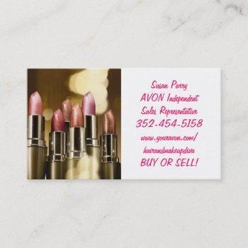 hot!! avon business cards