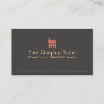 house business card