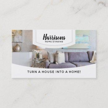 house staging slogans business cards