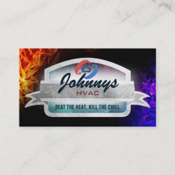 hvac slogans business cards