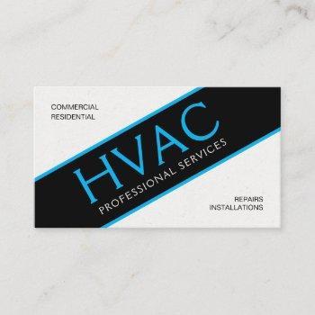 "hvac standard, 3.5"" x 2.0"" business card"