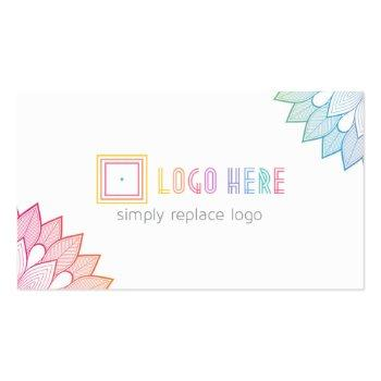 Small Independent Fashion Retailer Business Cards Front View