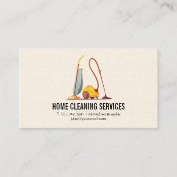 industrial cleaning business card