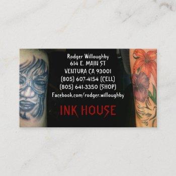 ink house business card