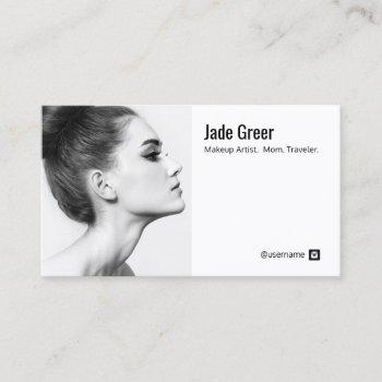 instagram photo image profile business card