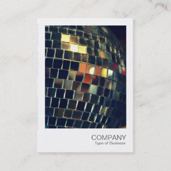 instant photo 051 - mirror ball business card