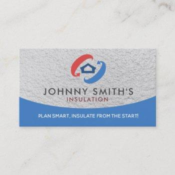 insulation slogans business cards